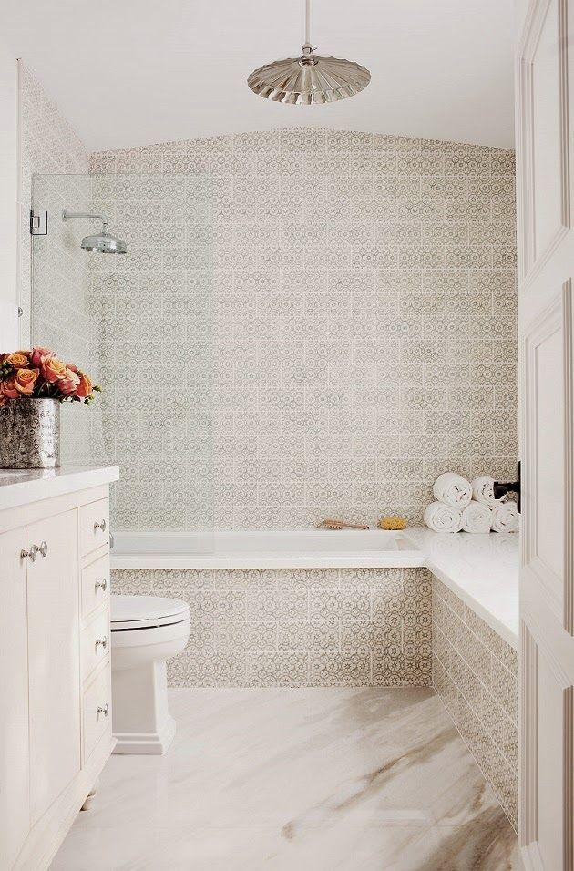 Charming bathroom design