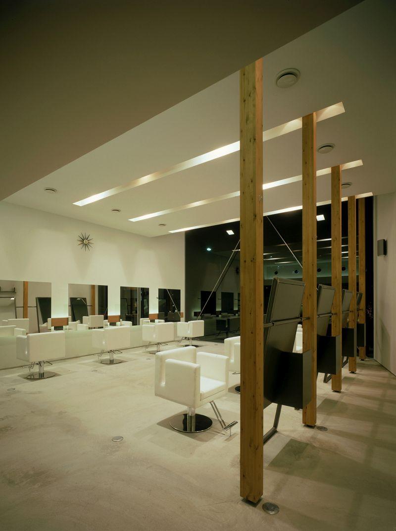 Coo hair Eclat atelier wood beams