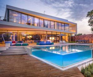 swimming pool home designs