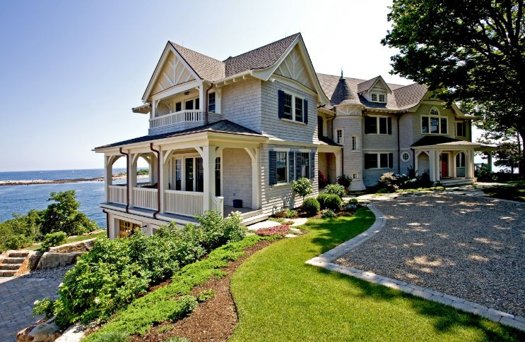 Design the driveway to match the house