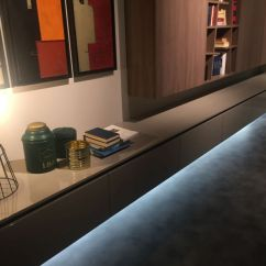 Led Lighting For Living Room Curtain Designs In How And Why To Decorate With Strip Lights Floating Furniture Light