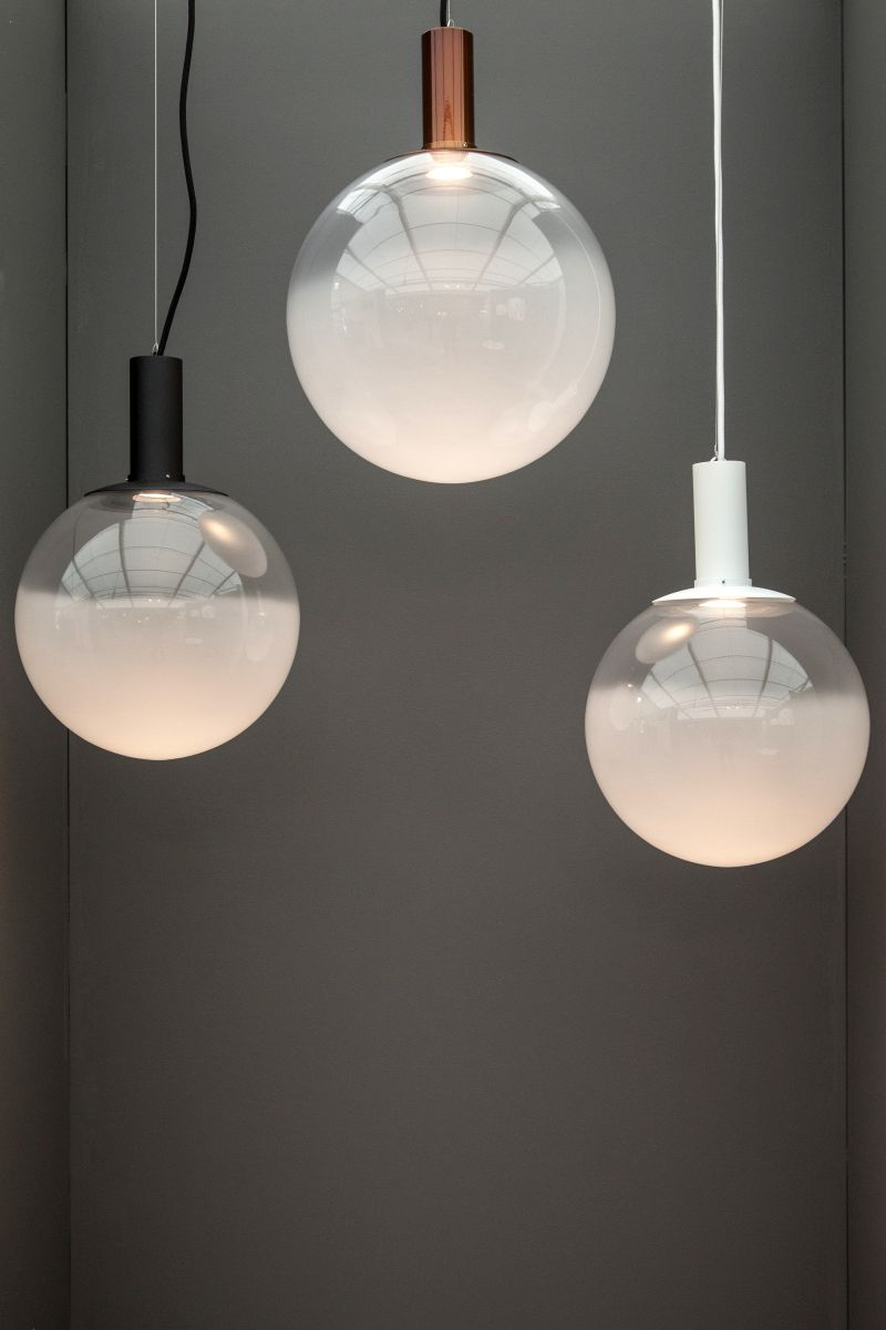 Fog pendan globe lighting