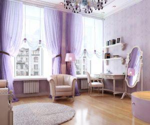 Grand purple room