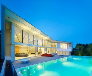 u shaped house designs with pool
