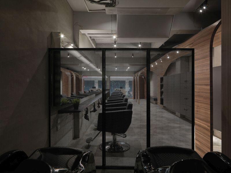 How Fun Hair Salon Design by JC Architecture divider