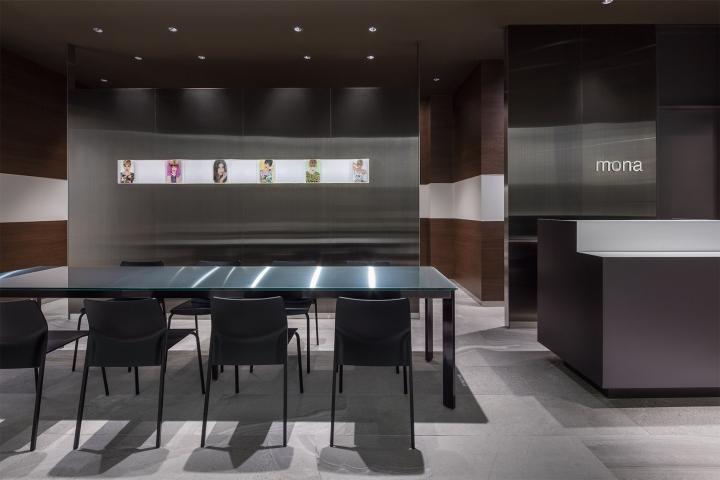Japan Mona beauty salon table