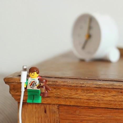 Lego Wire Holder