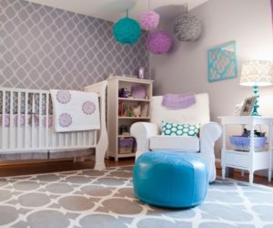 Levender Nursery Room design