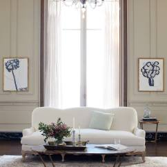 Shabby Chic Living Room Chairs Roman Chair Back Extension Alternative Best Furniture For A Linen Claribel Sofa