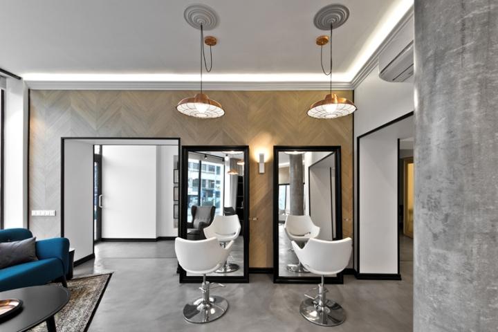 Lithuania beauty salon floor mirror