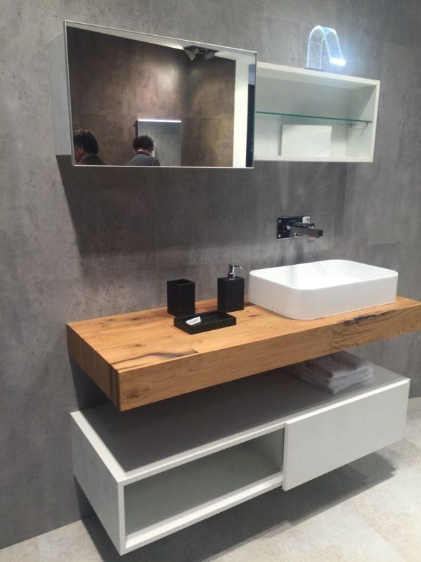 Floating Wood Bathroom Vanities