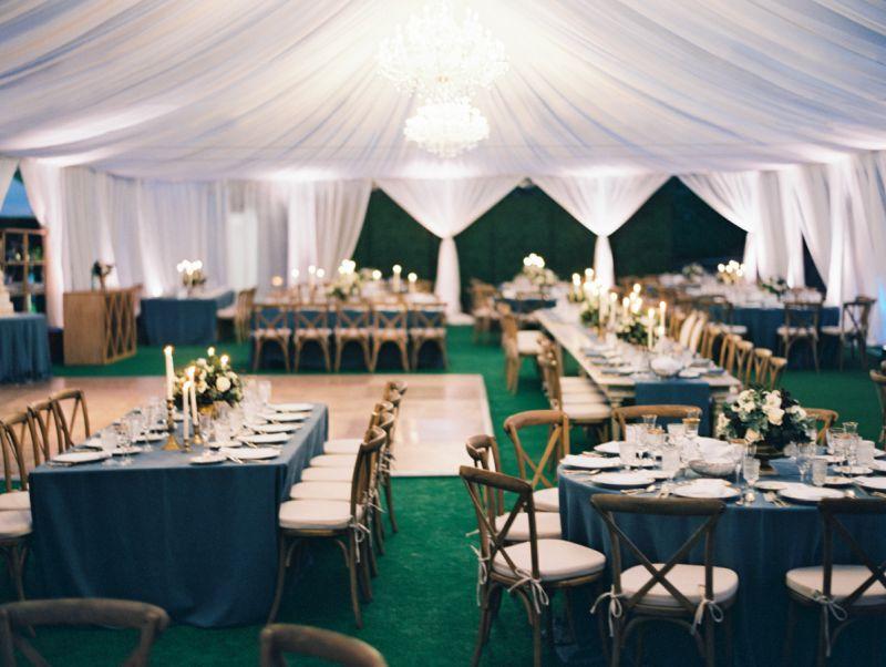 Los Angeles wedding tent design
