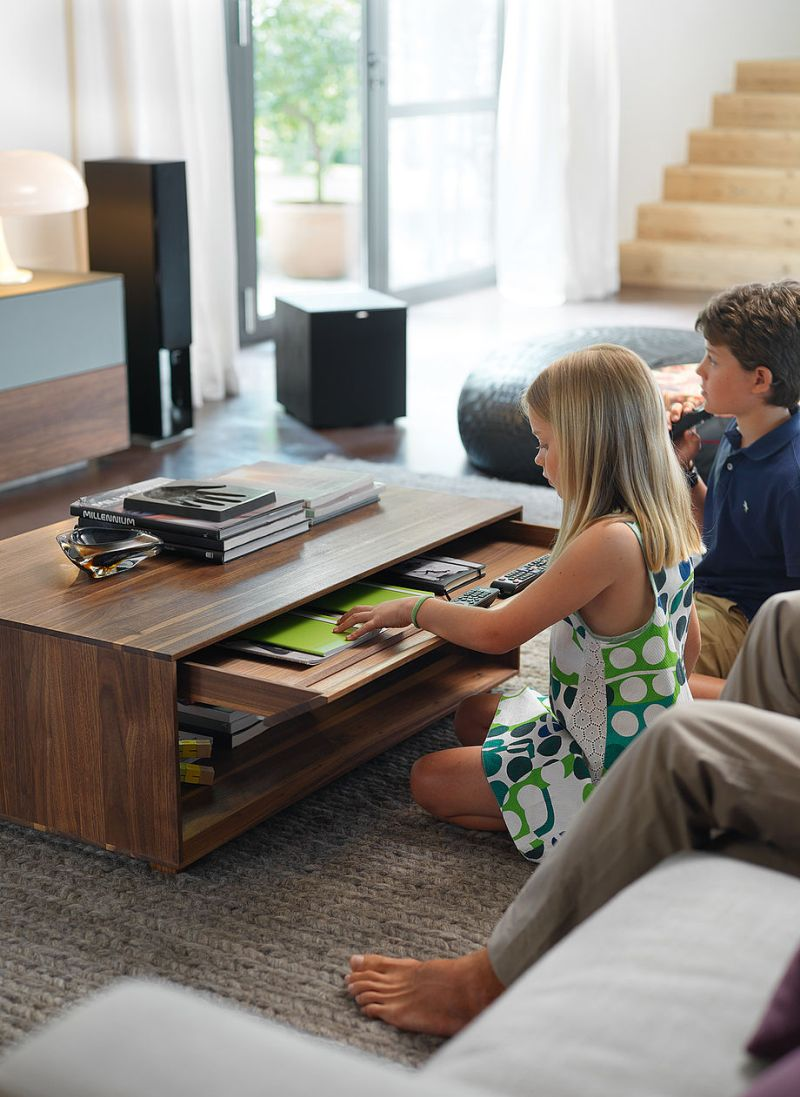 stylish coffee tables that double as