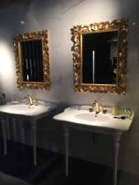 27 Luxury Gold Bathroom Mirrors