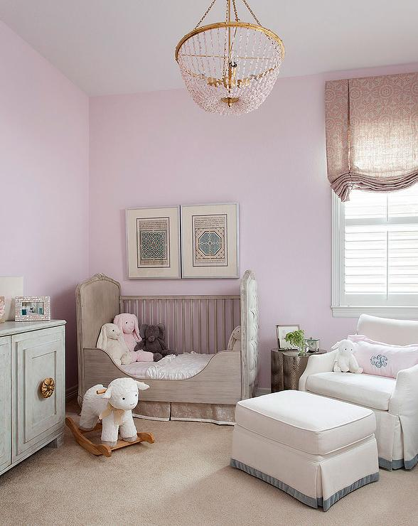 Soft color for a levender nursery