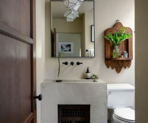 Spanish bathroom design