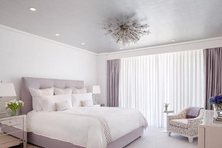 Timeless levender bedroom decor