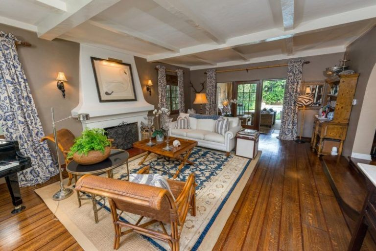 Wooden floors are a must have in Spanish homes