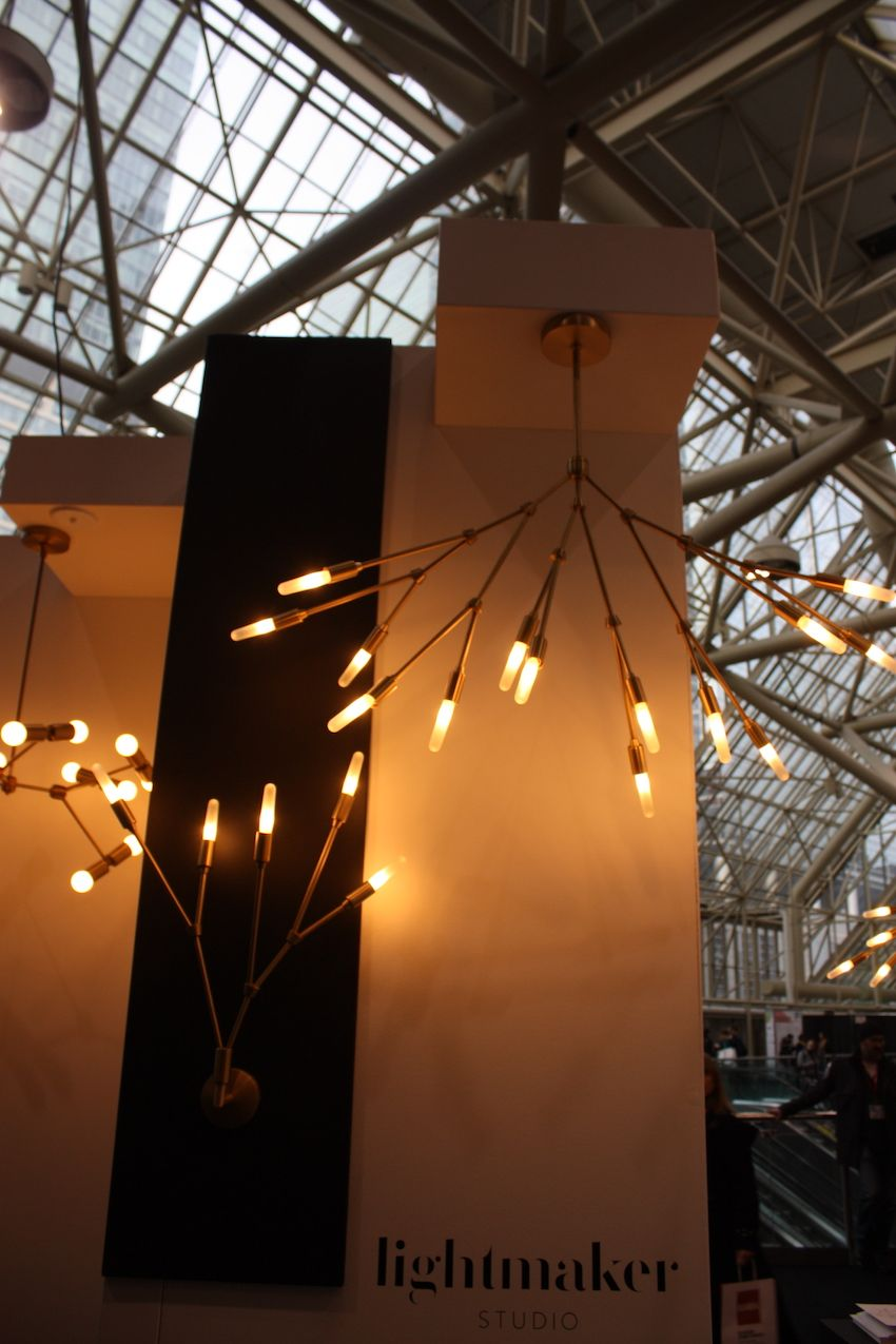 lightmaker branches with edison light bulbs