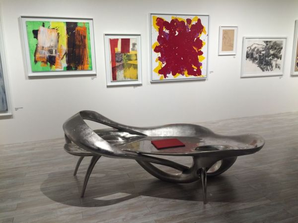 Art Gallery Bench