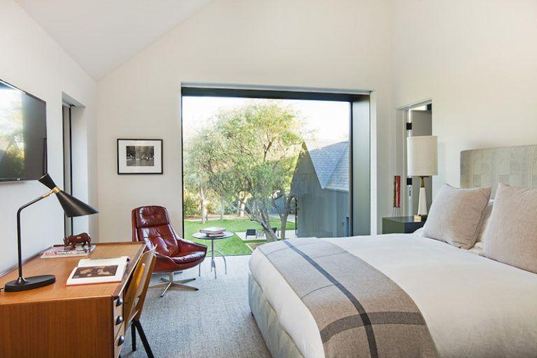 Contemporary Farmhouse Retreat - bedroom