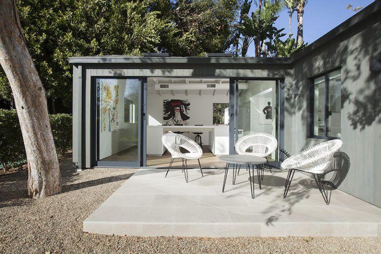Contemporary Farmhouse Retreat -porch