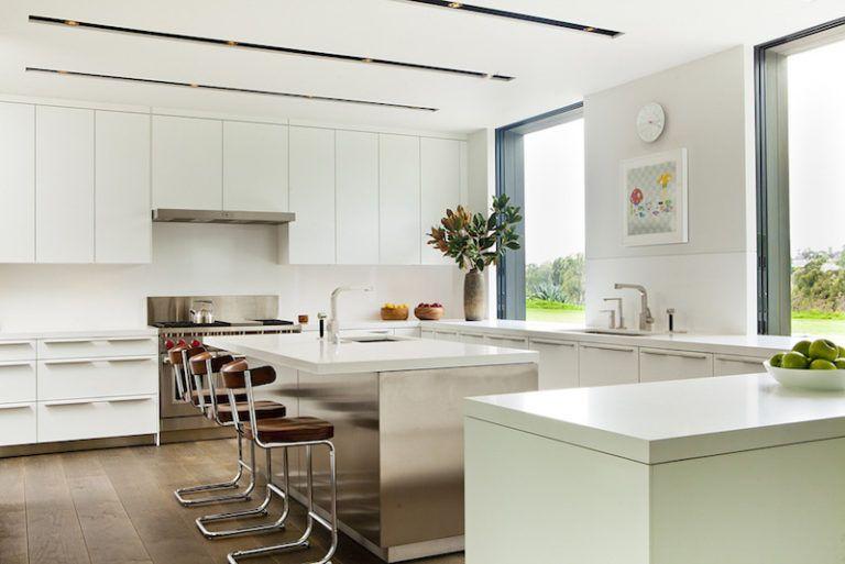 Contemporary Farmhouse Retreat - renovation kitchen