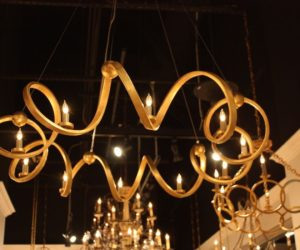 Currey & Company Ringmaster Chandelier.