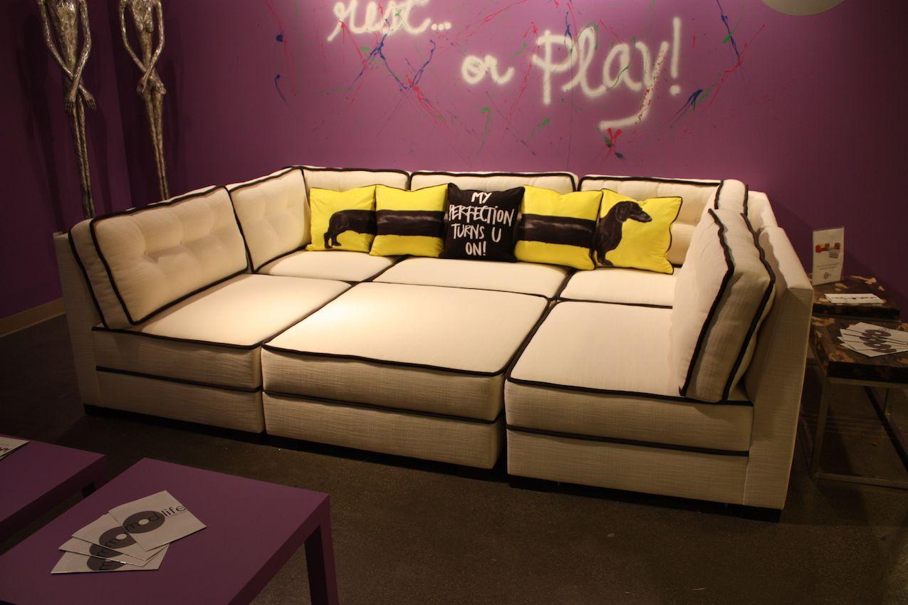 Georg Baehler large sofa
