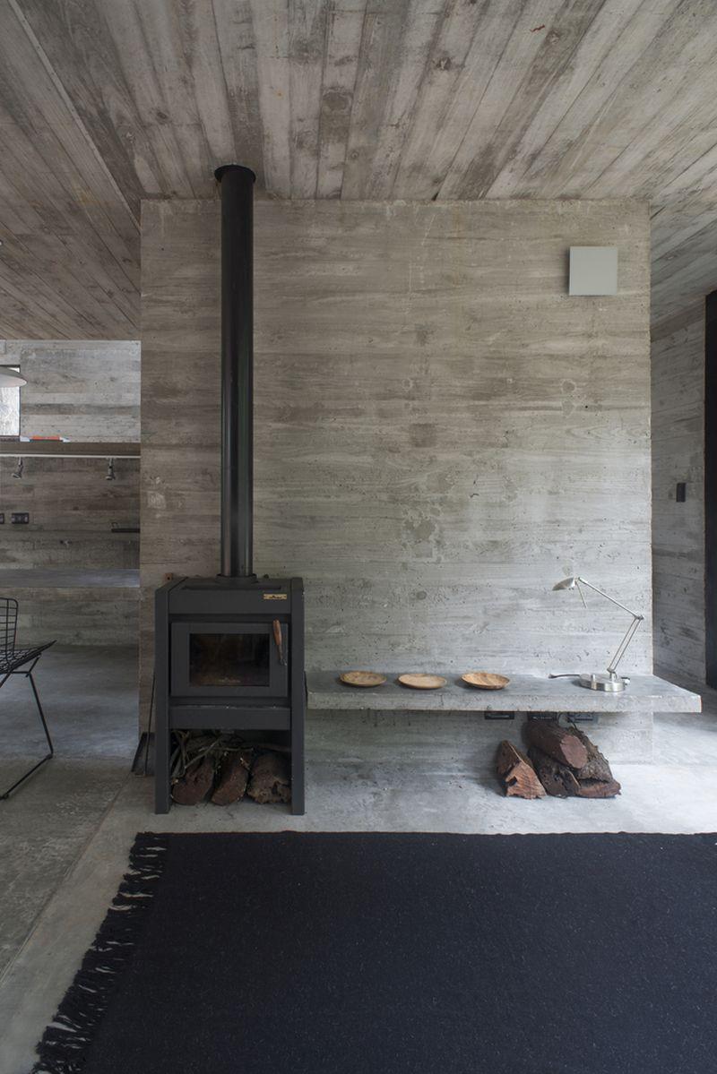 H3 House ground floor stove