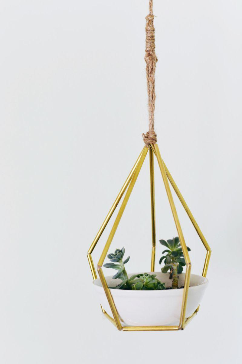 Hanging planter tubes