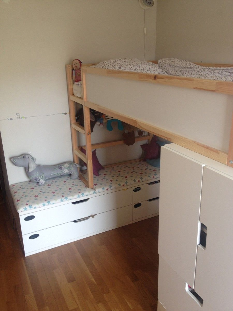 Kidfriendly DIYs Featuring The IKEA Kura Bed