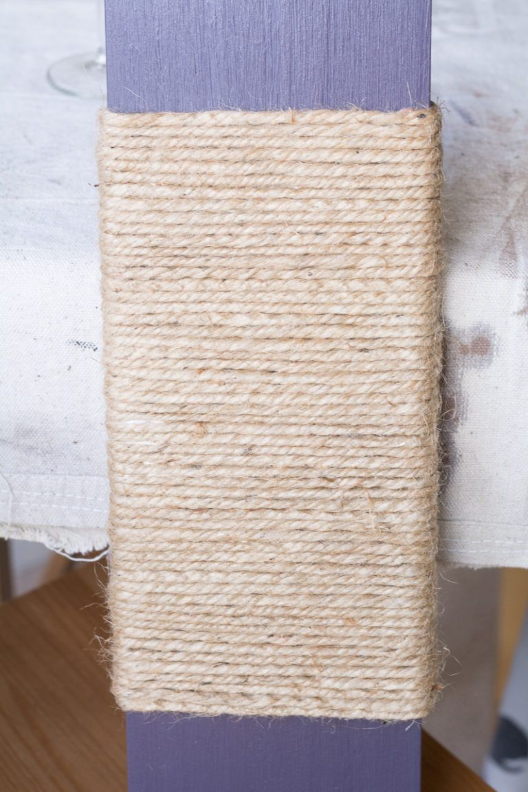 Modern Cat Scratcher - fix jute