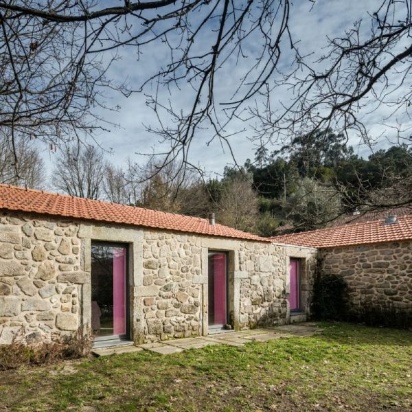 Colorful Barn House Redesigned Rural Tourism