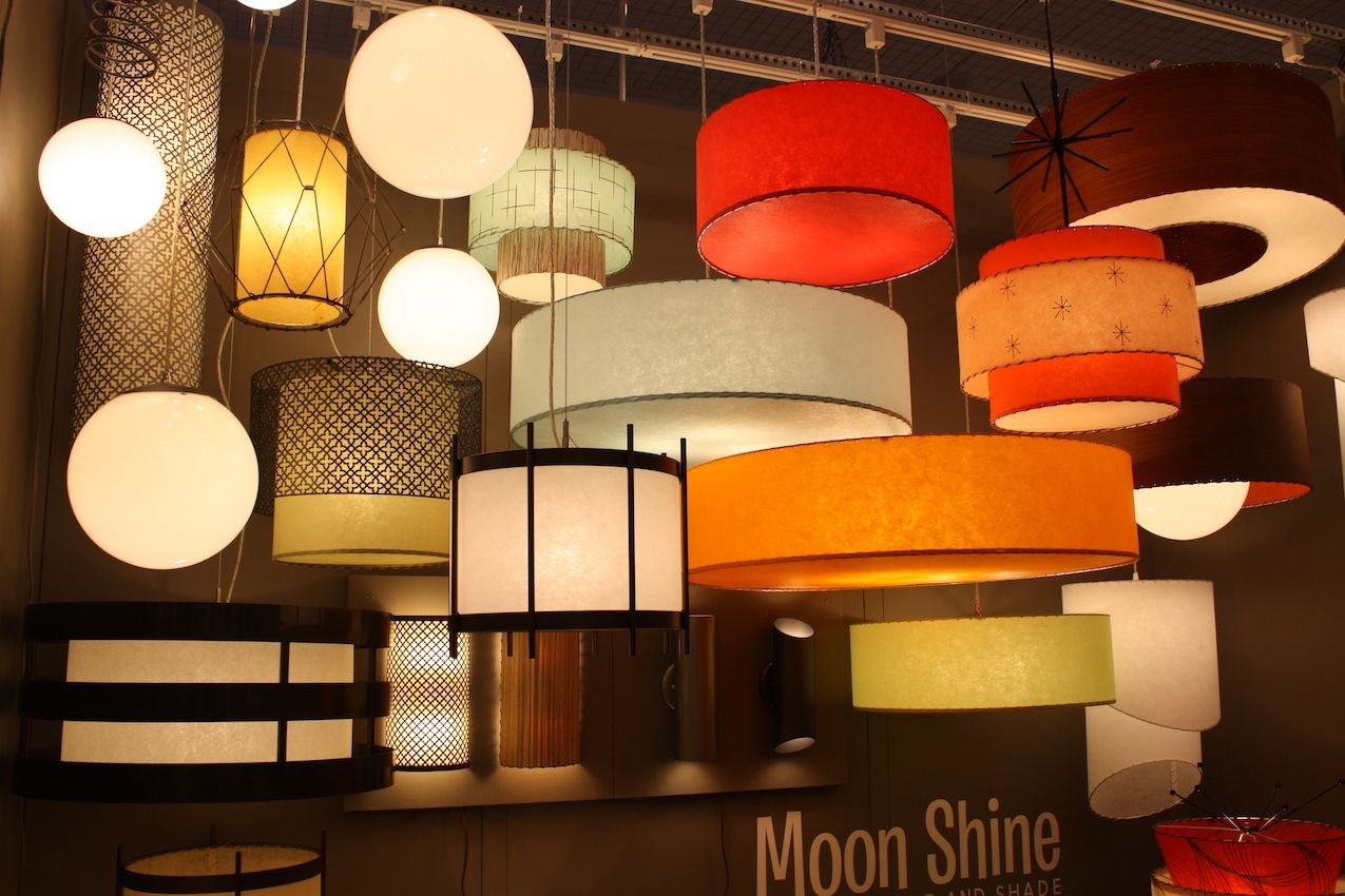 Moonshine lamps