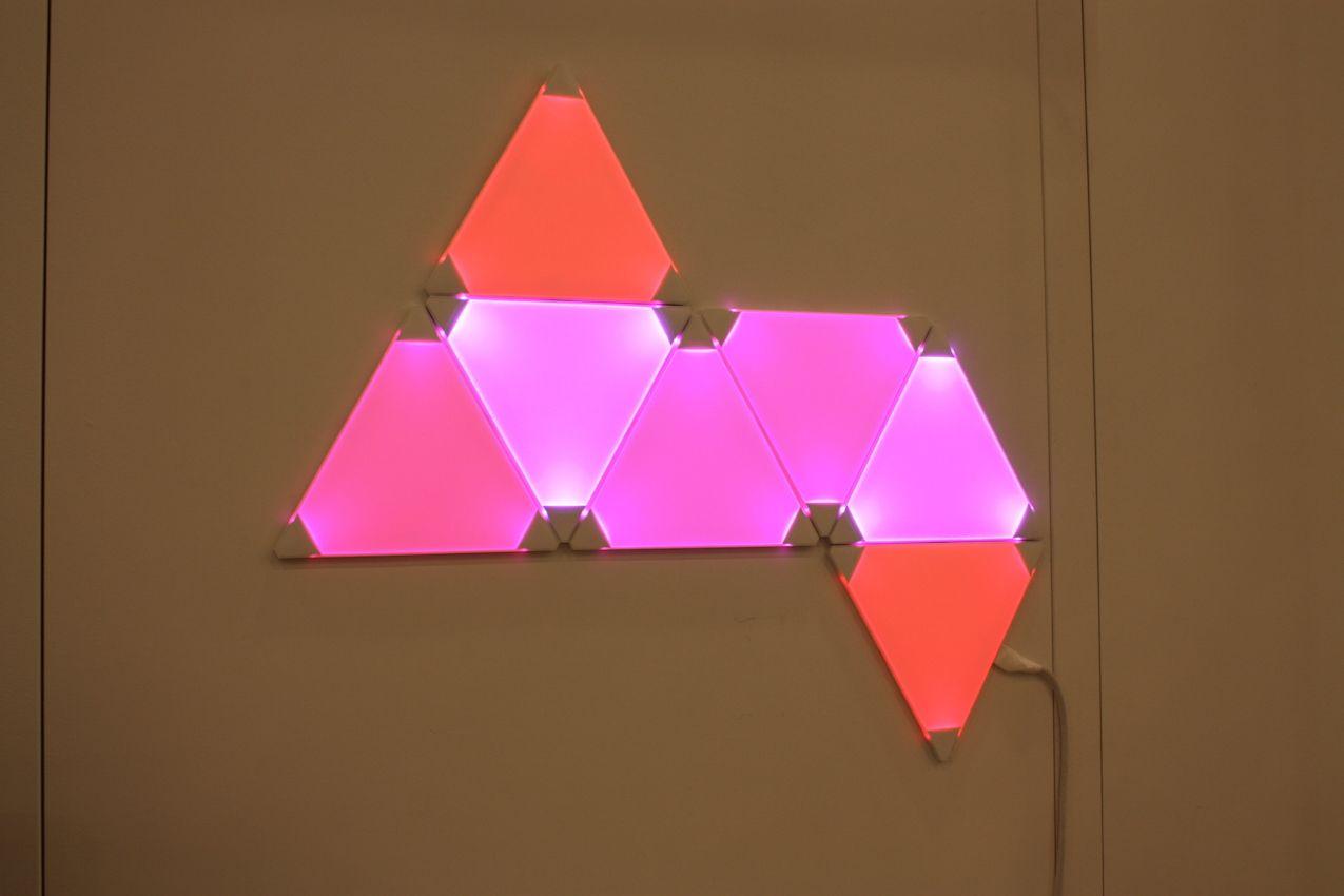 Nanoleaf prism lighting