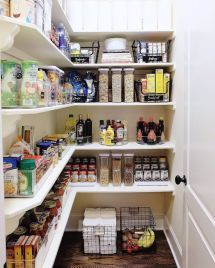 Pantry Room Organization Ideas