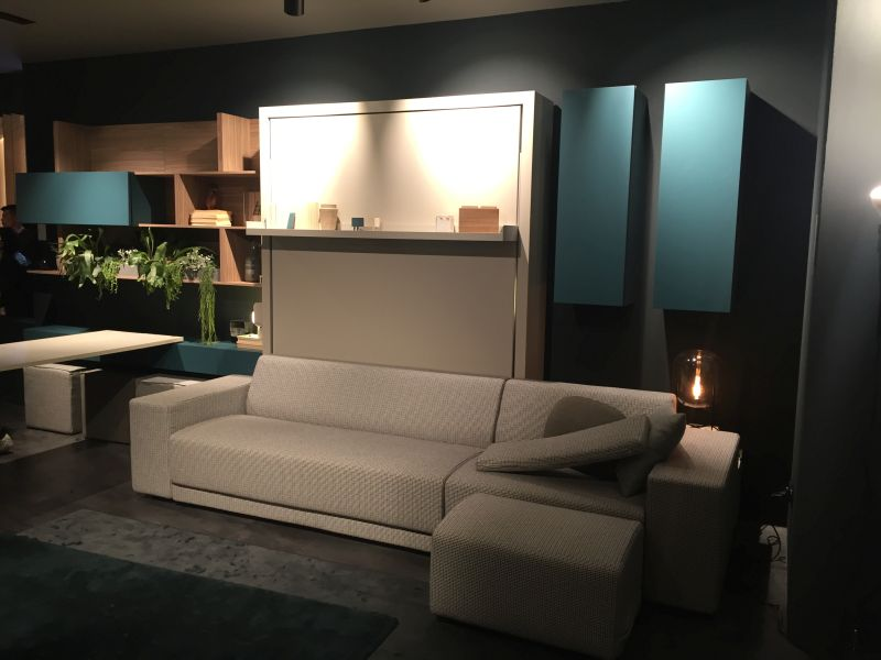 Sky blue smart living furniture