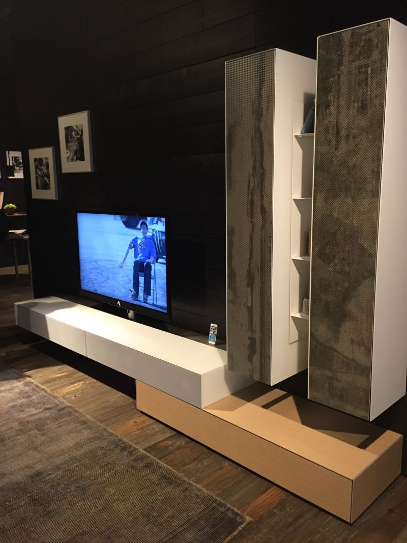 tv stand living room sand color paint for modern stands full of charm and versatility white grey media