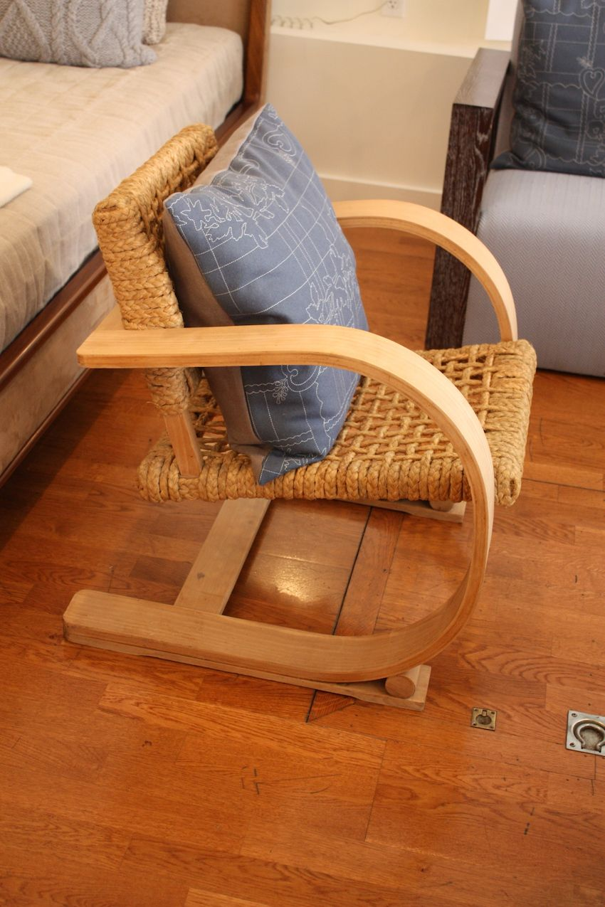 foley cox chair - rope seat