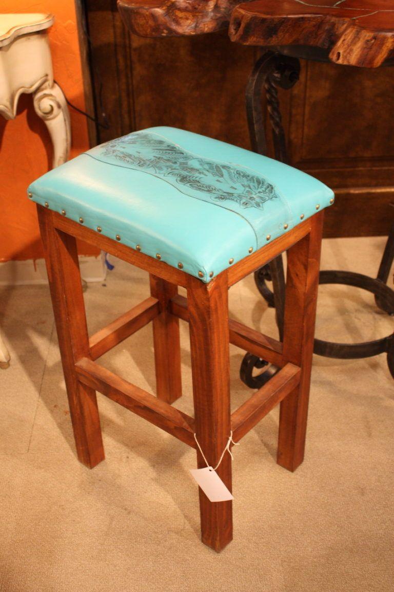 Bella Rustica leather bar stool design