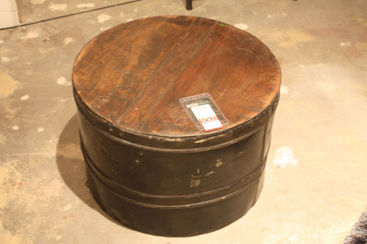 Classic home drum coffee table