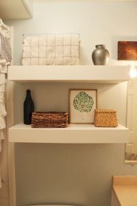 Diy Bathroom Floating Shelves | www.pixshark.com - Images ...