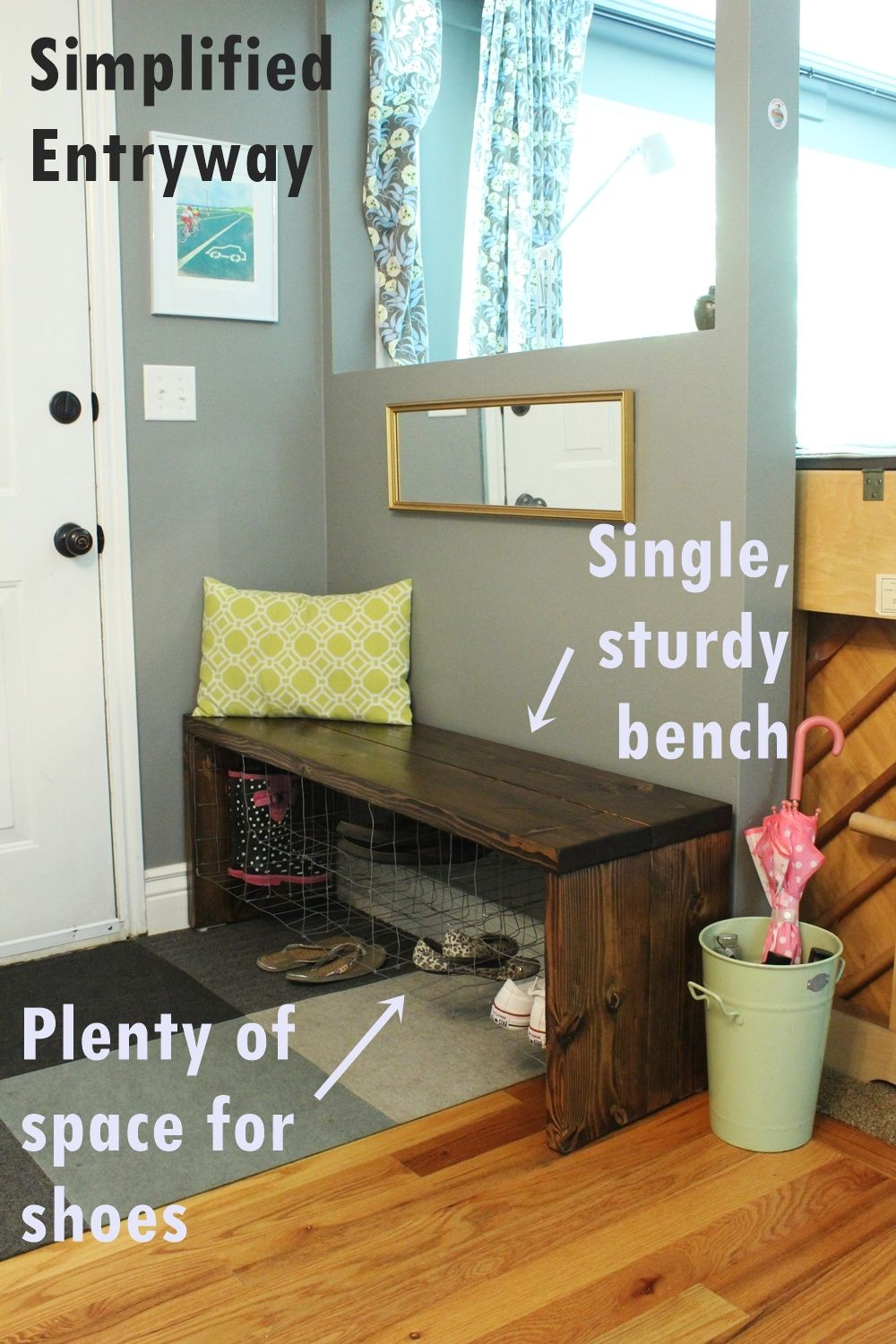 DIY Industrial Bench Project for Home
