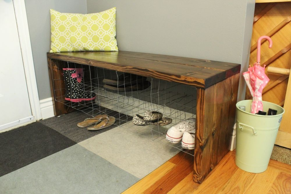 DIY Industrial Bench Project