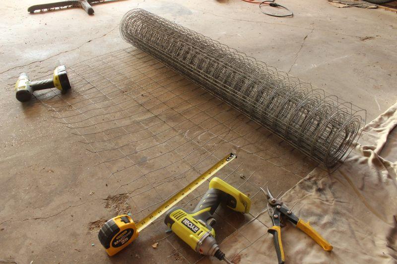 DIY Industrial Bench- prepare the wire
