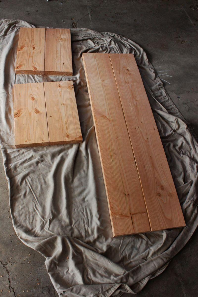 DIY Industrial Bench-top pieces