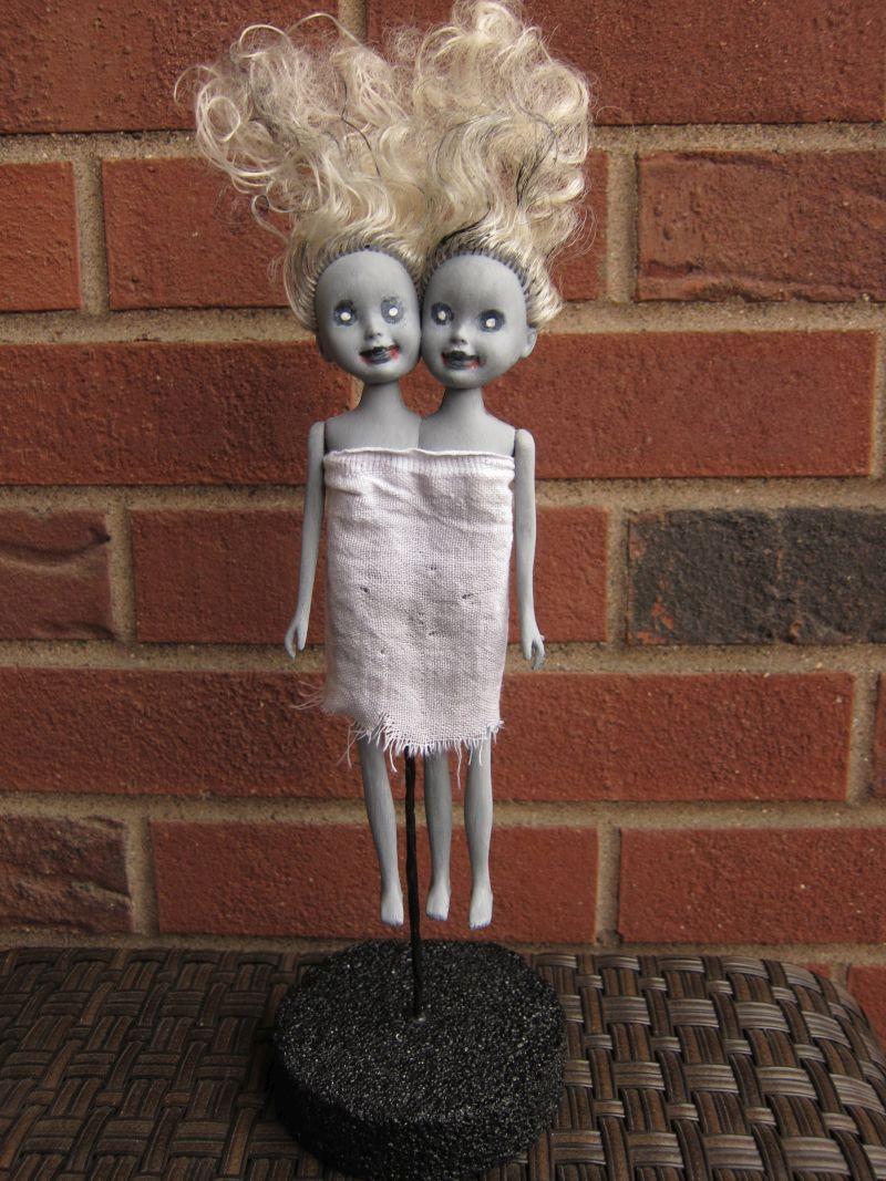 DIY zombie dolls