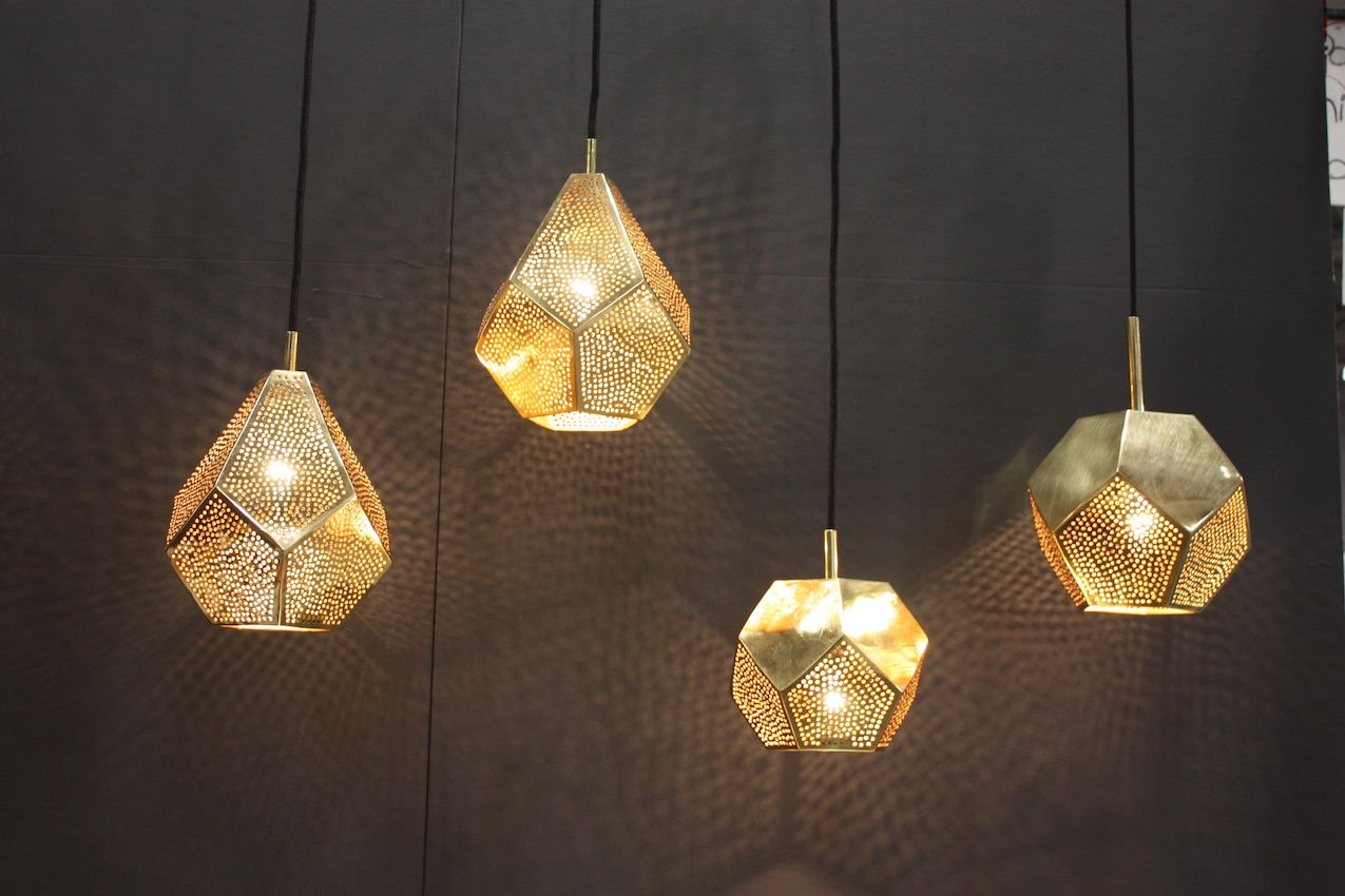 Dounia Home Brass pendants