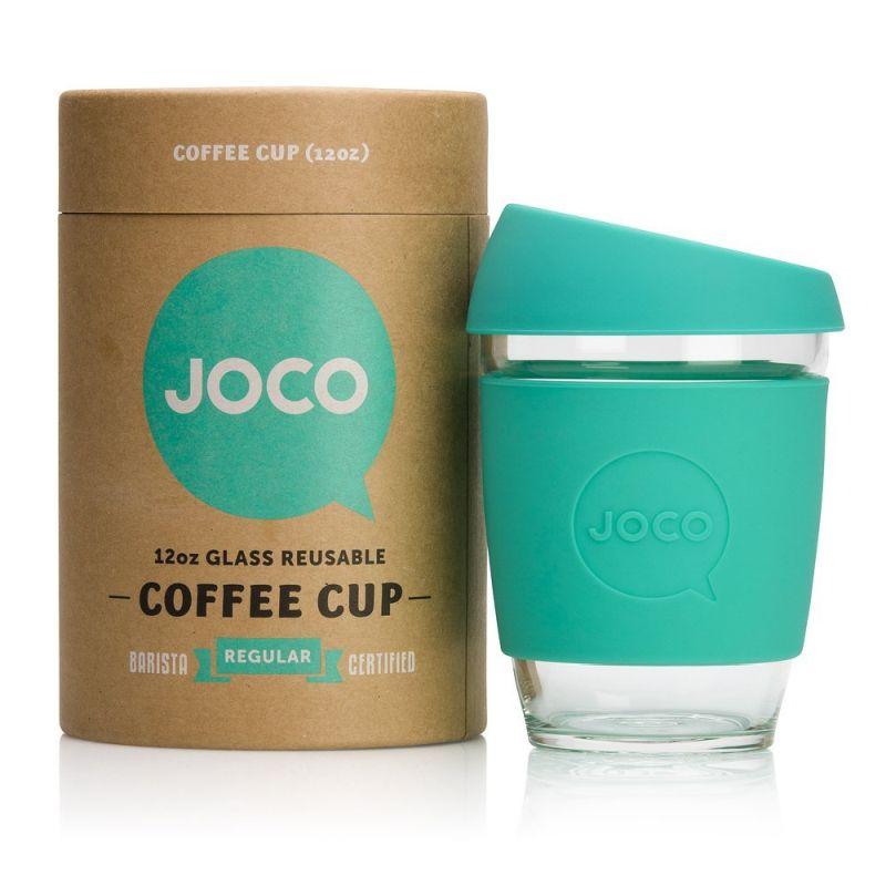Glass cup coffee mug